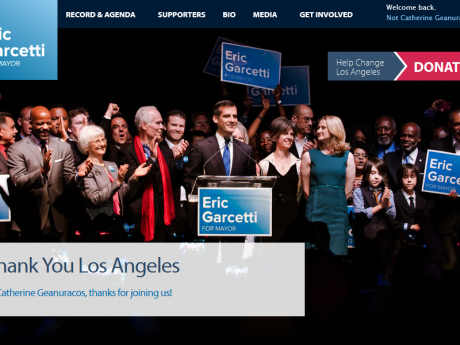 Eric Garcetti- Los Angeles Mayor 2013
